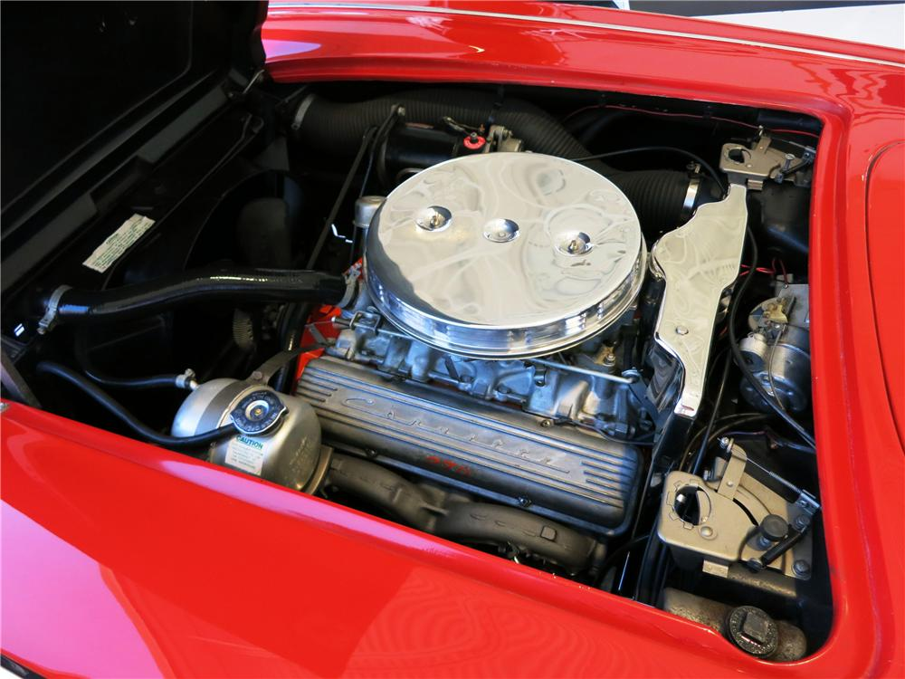1961 CHEVROLET CORVETTE CONVERTIBLE - Engine - 177523