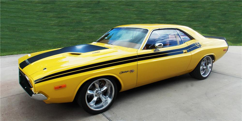 1974 DODGE CHALLENGER CUSTOM 2 DOOR HARDTOP - Front 3/4 - 177526