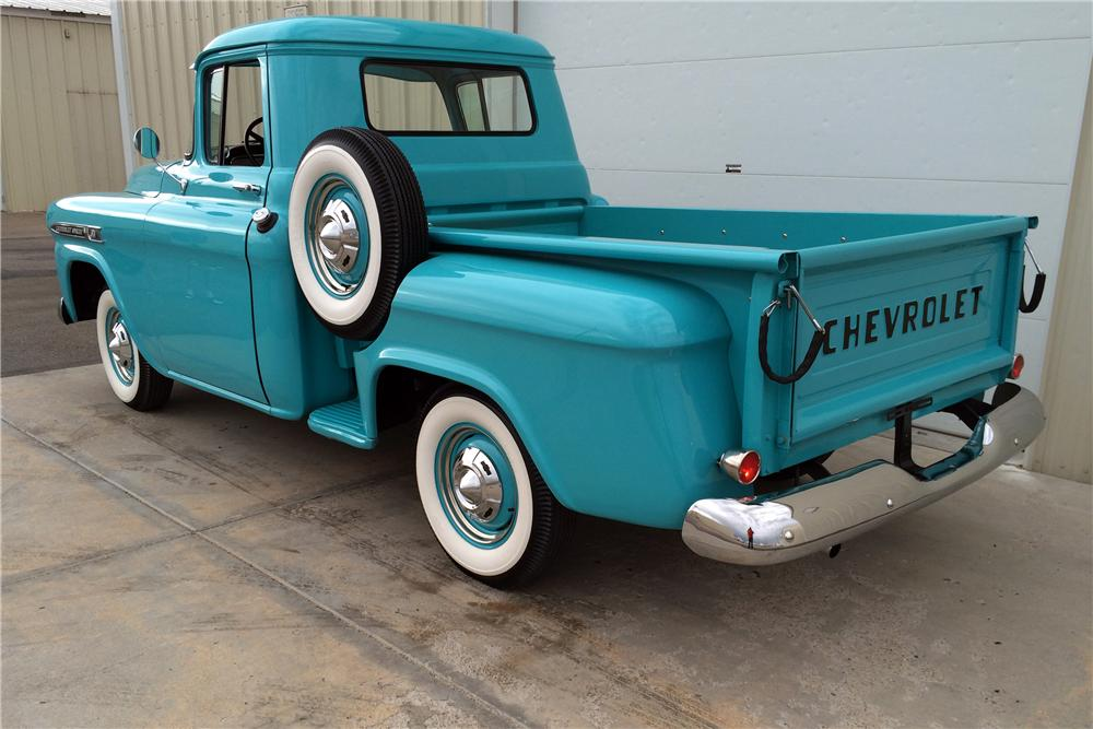 1959 CHEVROLET 3100 PICKUP - Rear 3/4 - 177533