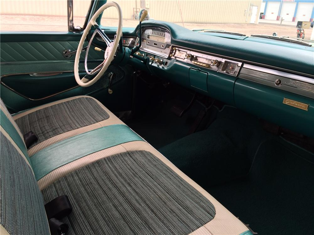 1959 FORD GALAXIE 500 4 DOOR HARDTOP - Interior - 177537