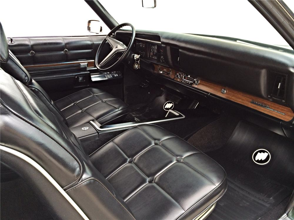 1969 BUICK RIVIERA GS 2 DOOR HARDTOP - Interior - 177538