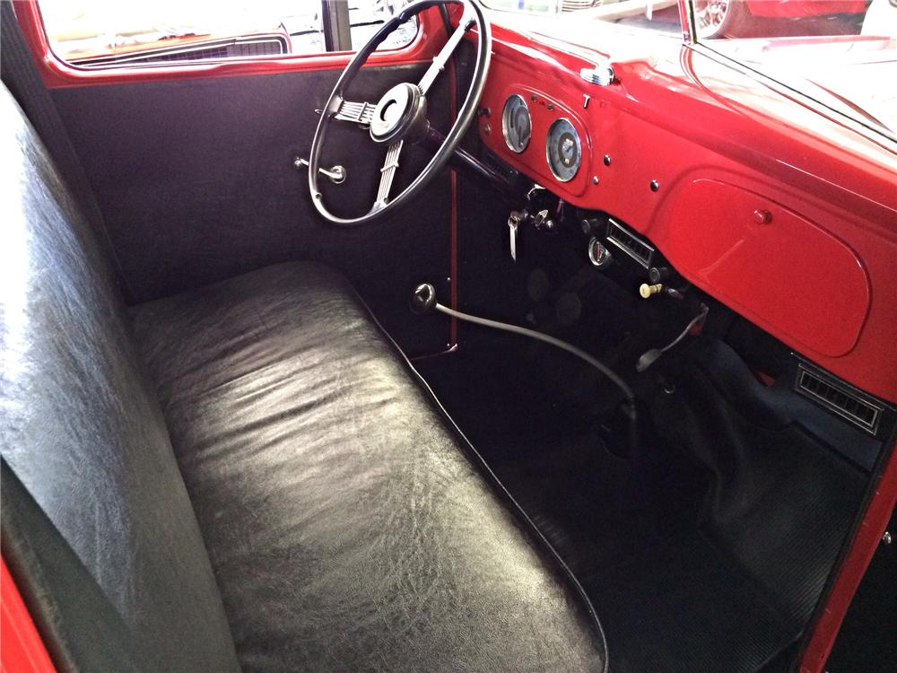 1937 FORD FLATBED PICKUP - Interior - 177539