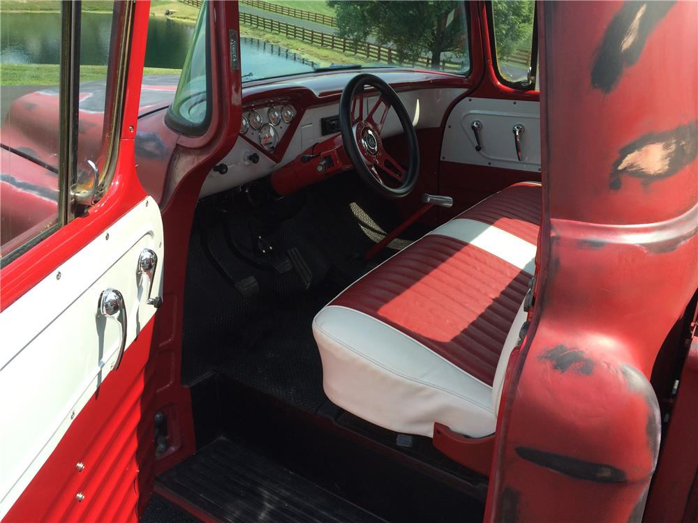 1955 CHEVROLET 3100 CUSTOM PICKUP - Interior - 177540