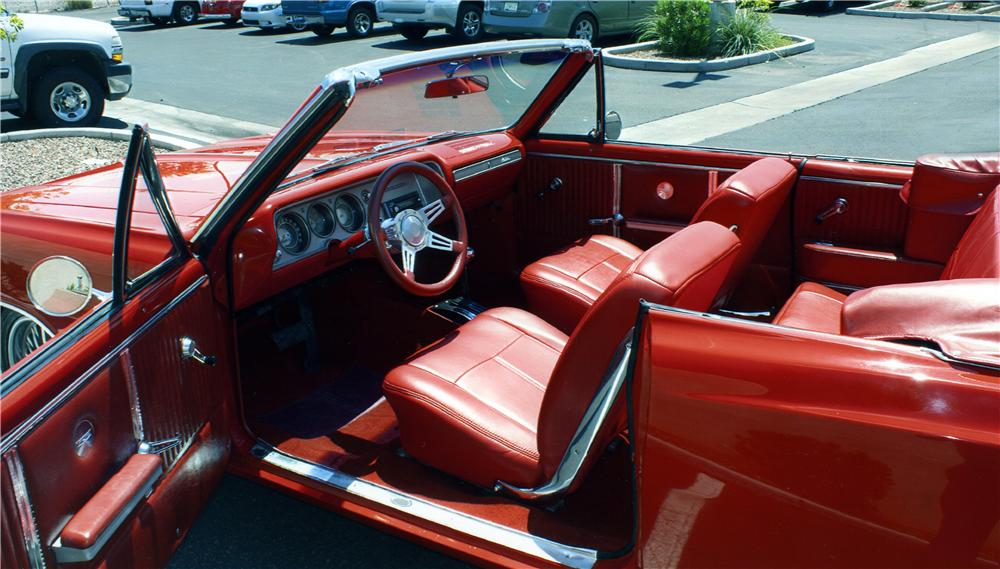 1964 CHEVROLET MALIBU CUSTOM CONVERTIBLE - Interior - 177543