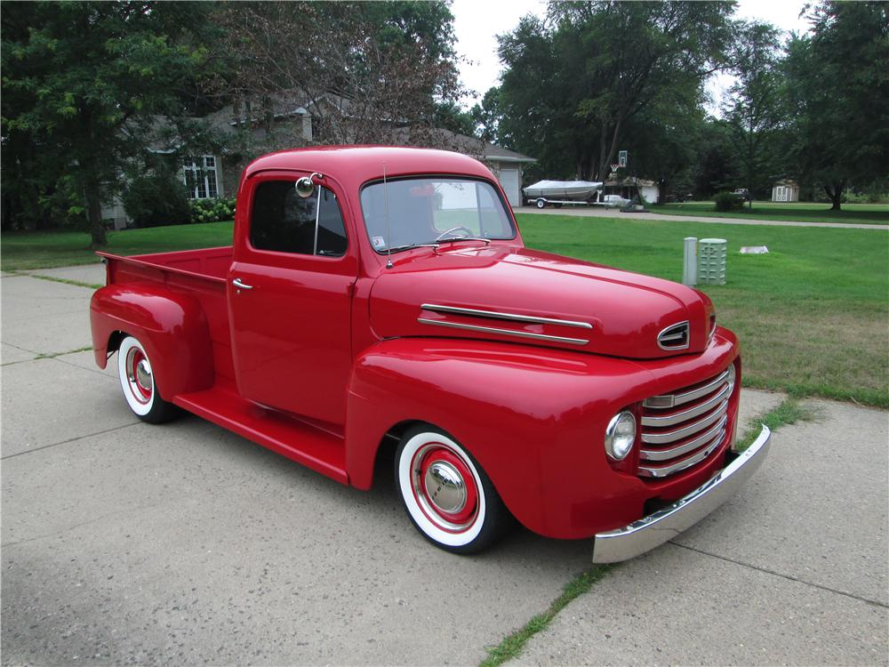 1948 Ford F 100 Custom Pickup 177548
