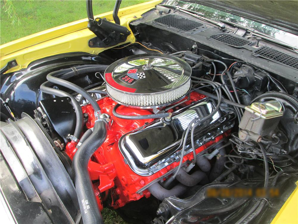 1970 CHEVROLET CAMARO RS/SS 2 DOOR COUPE - Engine - 177564
