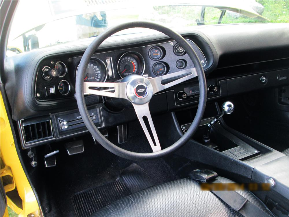 1970 CHEVROLET CAMARO RS/SS 2 DOOR COUPE - Interior - 177564