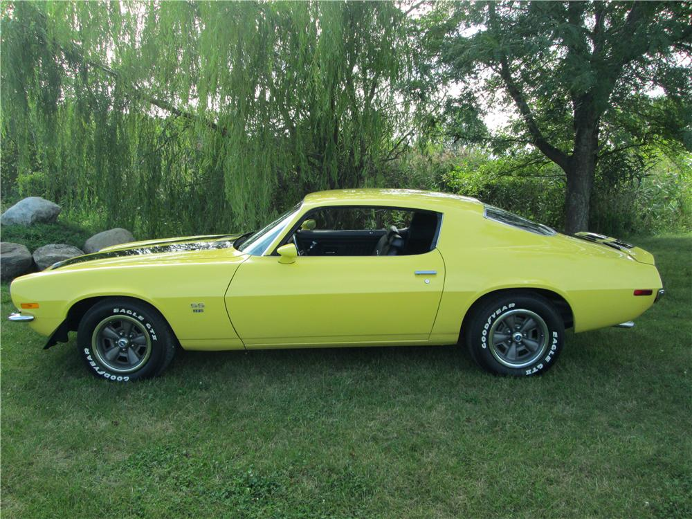 1970 CHEVROLET CAMARO RS/SS 2 DOOR COUPE - Side Profile - 177564