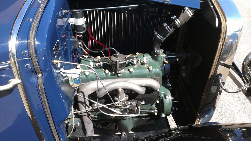 1930 FORD MODEL A ROADSTER - Engine - 177565