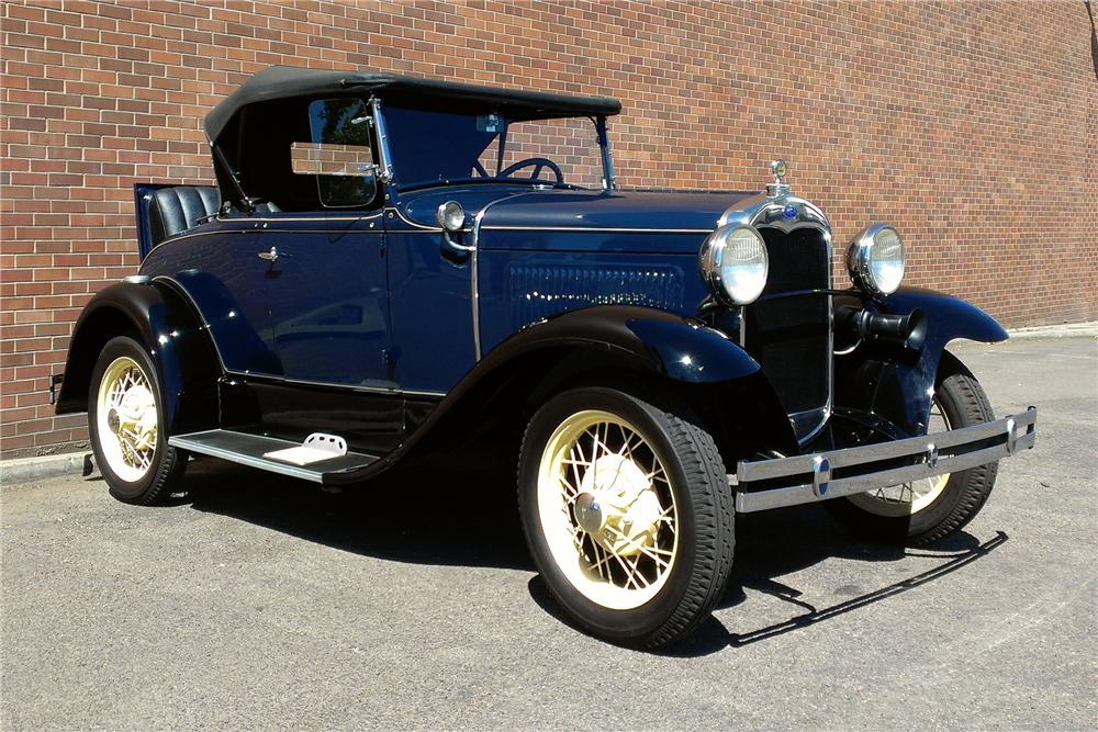 1930 FORD MODEL A ROADSTER - Front 3/4 - 177565