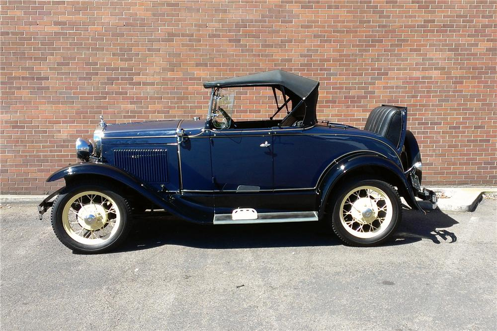 1930 FORD MODEL A ROADSTER - Side Profile - 177565