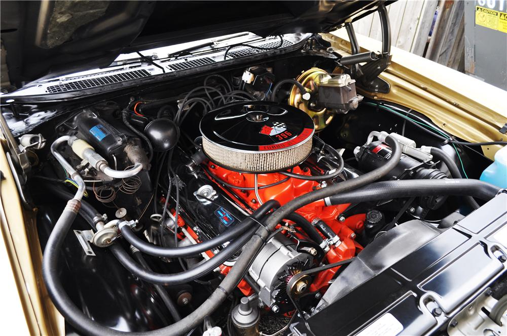 1970 CHEVROLET CHEVELLE SS 396 2 DOOR COUPE - Engine - 177569
