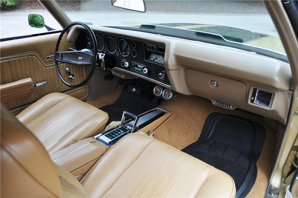 1970 CHEVROLET CHEVELLE SS 396 2 DOOR COUPE - Interior - 177569