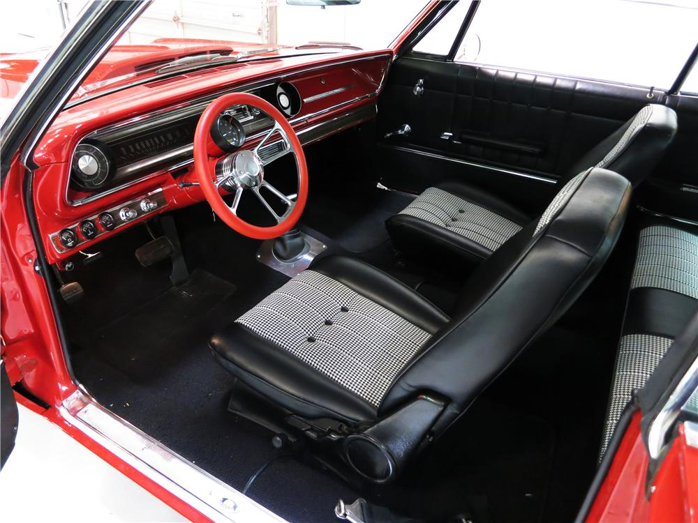 1965 CHEVROLET IMPALA CUSTOM 2 DOOR HARDTOP - Interior - 177597
