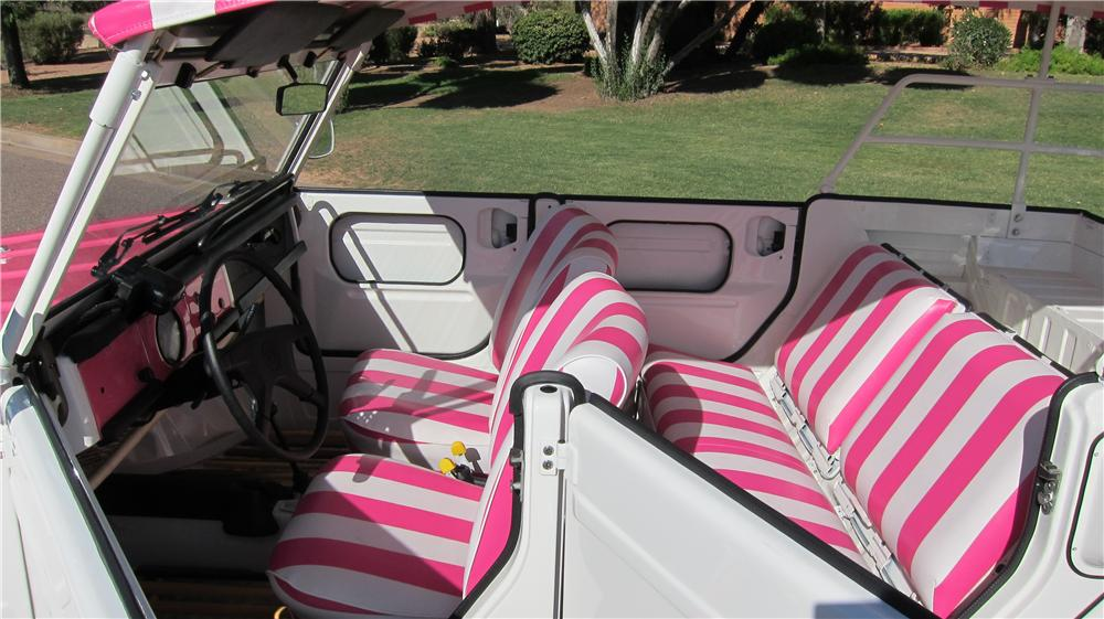 1974 VOLKSWAGEN THING 4 DOOR OPEN TOP - Interior - 177615