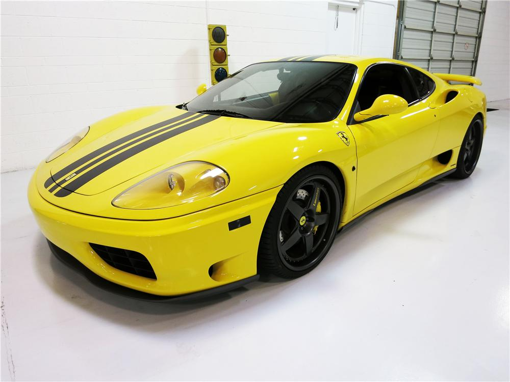 2002 ferrari 360 modena custom 2 door coupe 177625. Black Bedroom Furniture Sets. Home Design Ideas