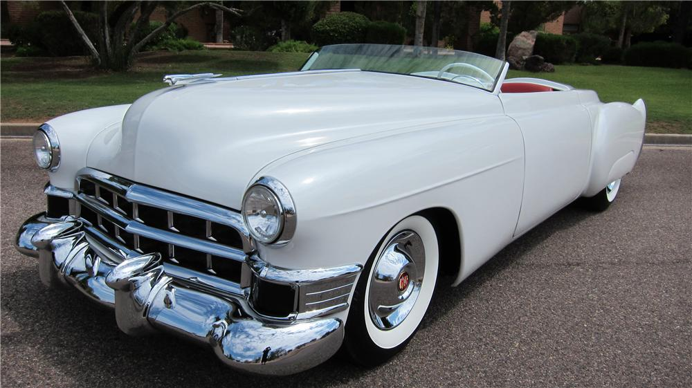 1949 CADILLAC CUSTOM TOPLESS ROADSTER - Front 3/4 - 177628