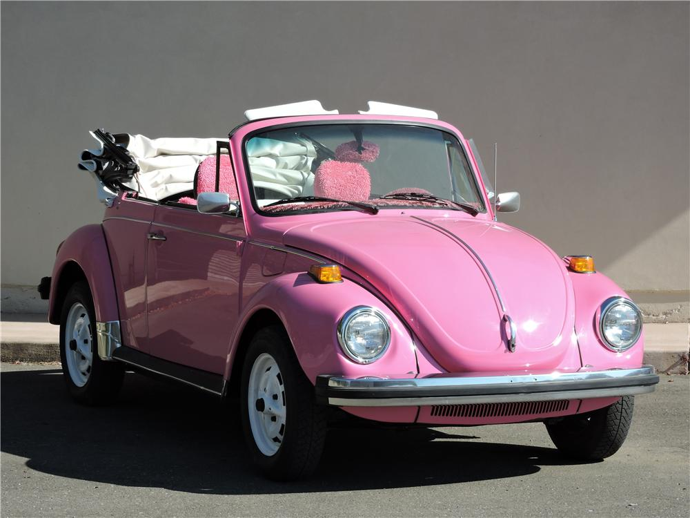 1977 VOLKSWAGEN BEETLE CUSTOM CONVERTIBLE