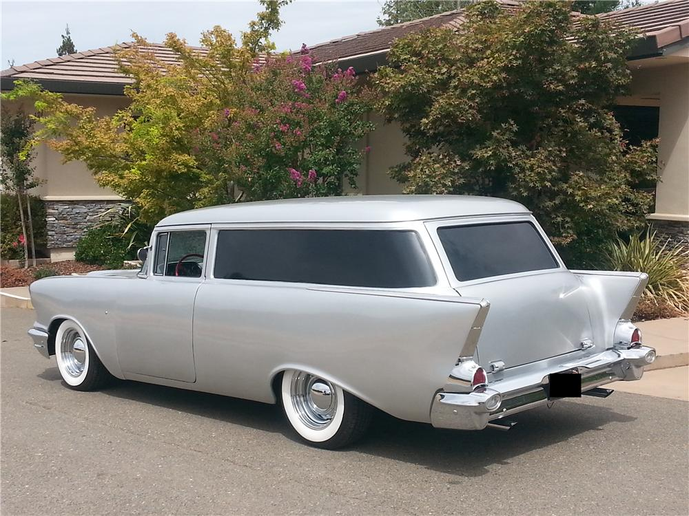 1957 chevrolet 210 custom 2 door wagon 177631