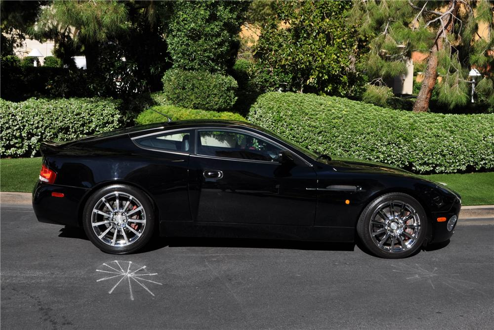 2006 ASTON MARTIN VANQUISH S 2 DOOR COUPE - Side Profile - 177635