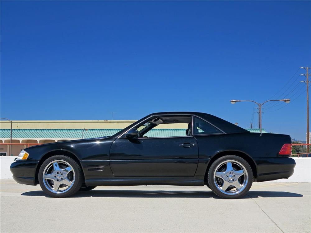 2001 mercedes benz sl500 convertible 177638