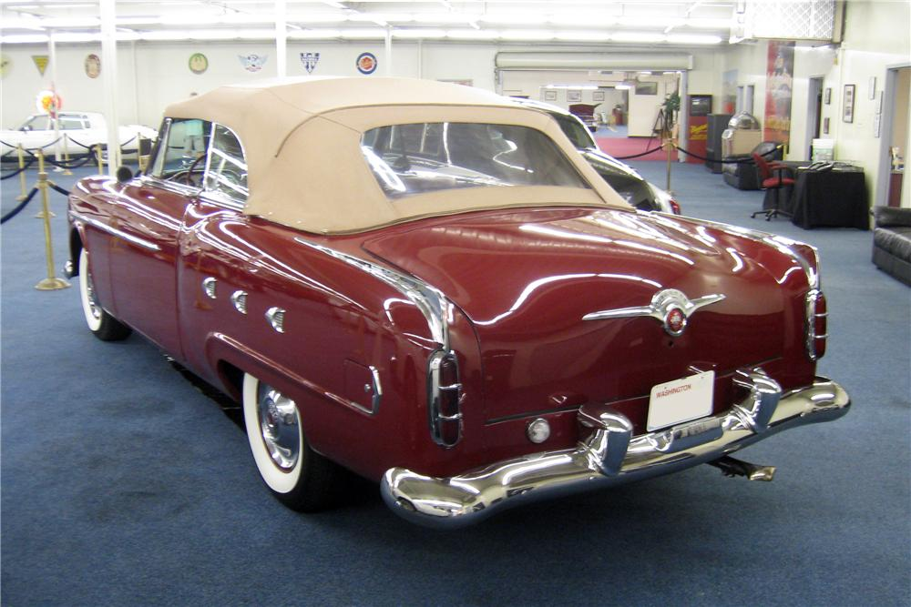 1952 PACKARD CONVERTIBLE - Rear 3/4 - 177646