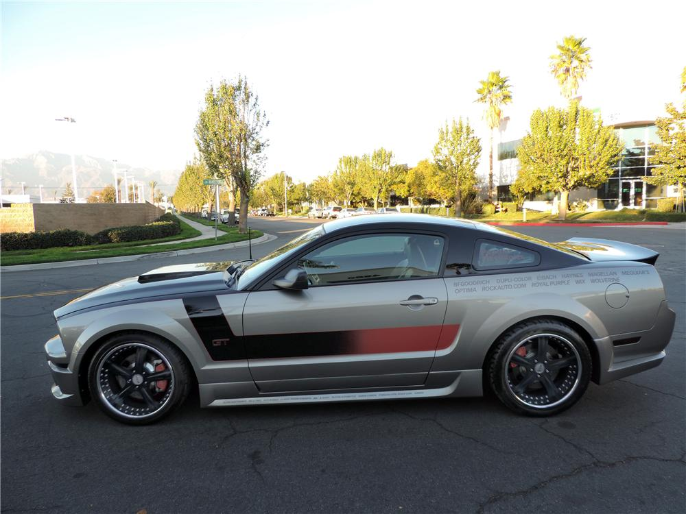 2008 FORD MUSTANG GT CUSTOM 2 DOOR COUPE - Side Profile - 177656