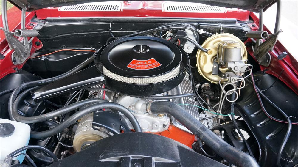 1969 CHEVROLET CAMARO 2 DOOR COUPE - Engine - 177657