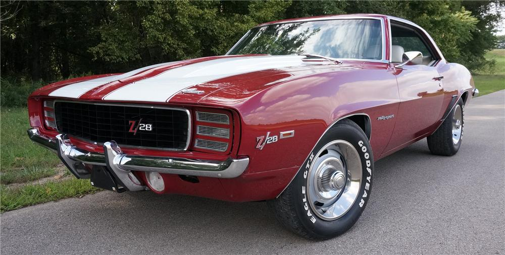 1969 CHEVROLET CAMARO 2 DOOR COUPE - Front 3/4 - 177657