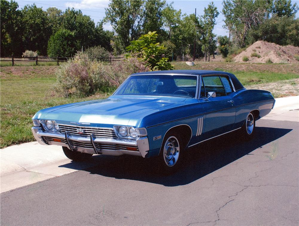 1968 CHEVROLET IMPALA SS 2 DOOR COUPE - Front 3/4 - 177660