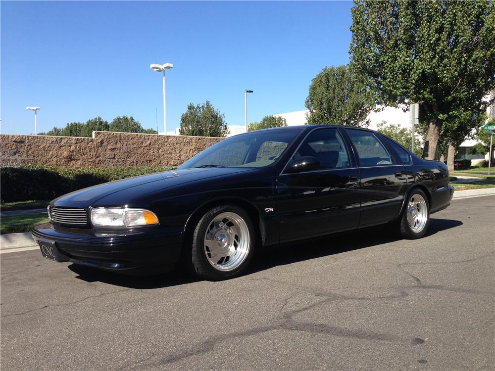 1996 Chevrolet Impala Ss 4 Door Sedan 177663