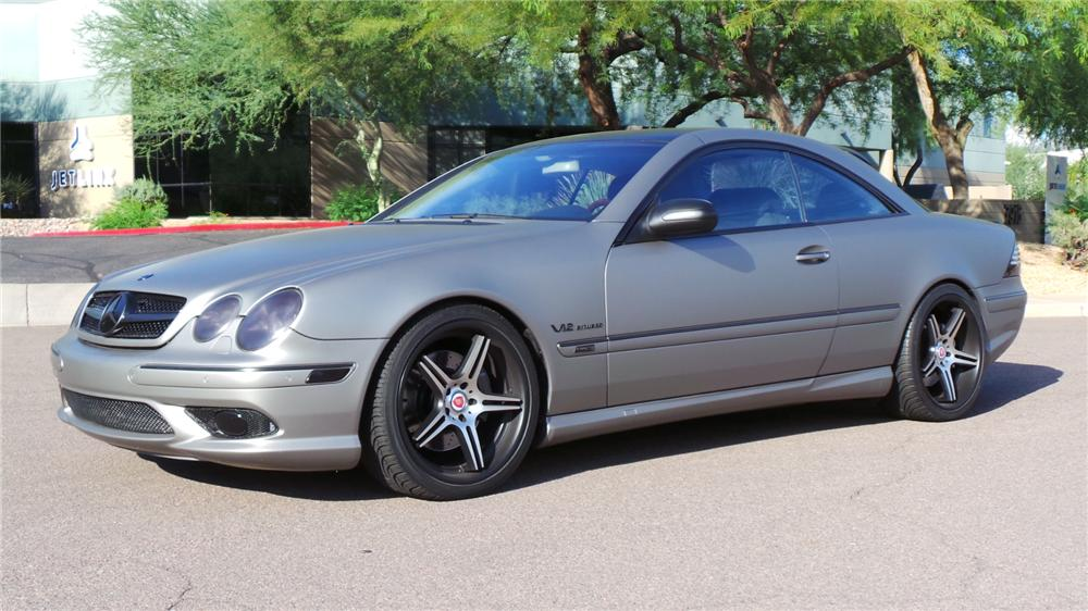 2004 mercedes benz cl600 custom 2 door coupe 177669 for Mercedes benz cl600 price