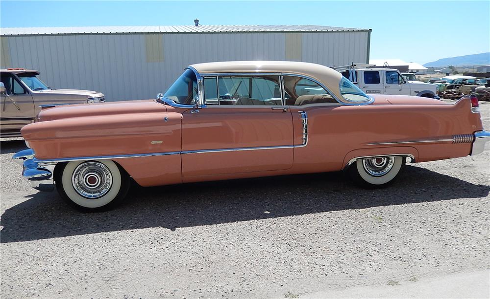 1956 CADILLAC 2 DOOR COUPE - Side Profile - 177678