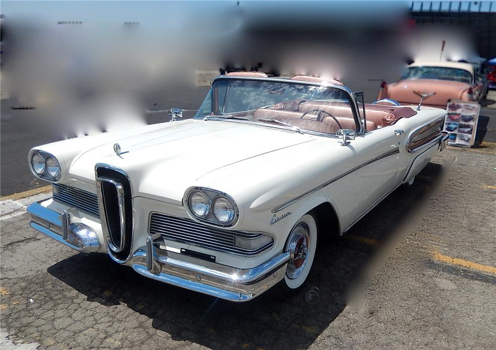 1958 EDSEL CITATION CONVERTIBLE - Front 3/4 - 177681