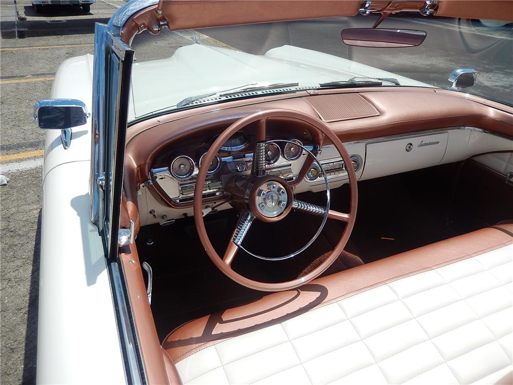 1958 EDSEL CITATION CONVERTIBLE - Interior - 177681