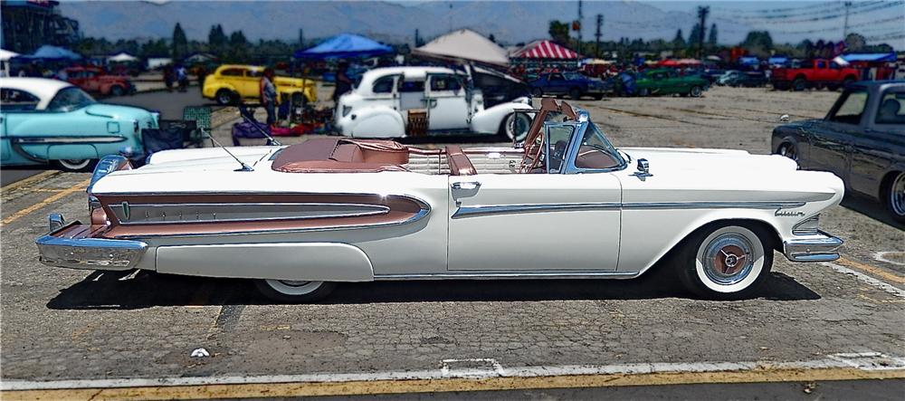 1958 EDSEL CITATION CONVERTIBLE - Side Profile - 177681