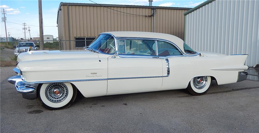 1956 cadillac eldorado seville 2 door hardtop 177685 for 1956 cadillac 4 door sedan