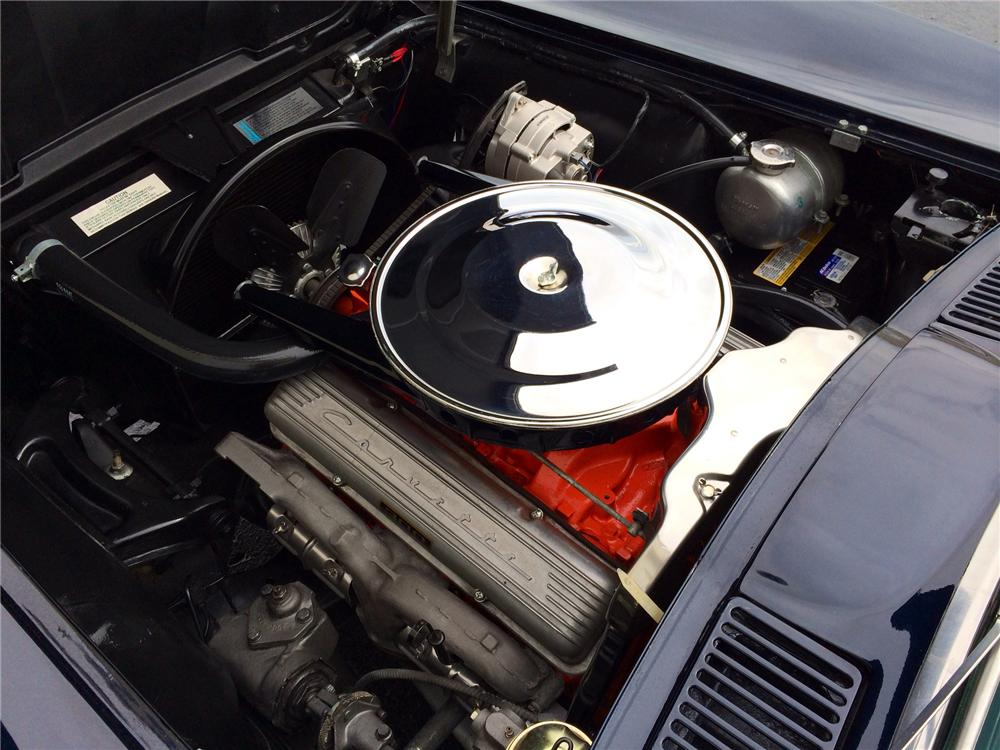 1963 CHEVROLET CORVETTE CONVERTIBLE - Engine - 177694
