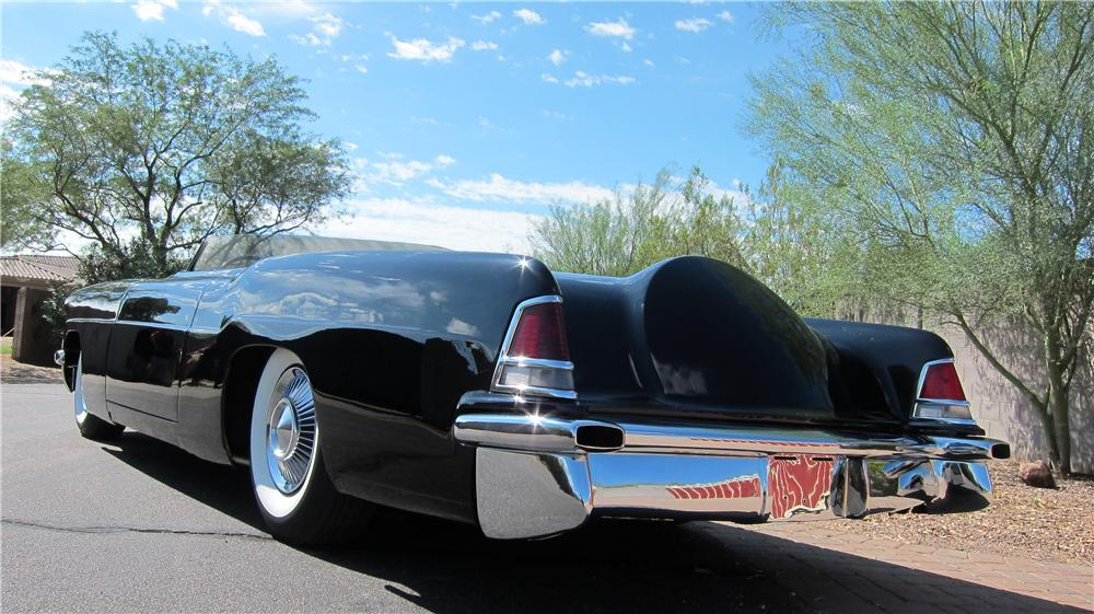 1956 LINCOLN CONTINENTAL MARK II CUSTOM TOPLESS ROADSTER - Rear 3/4 - 177696