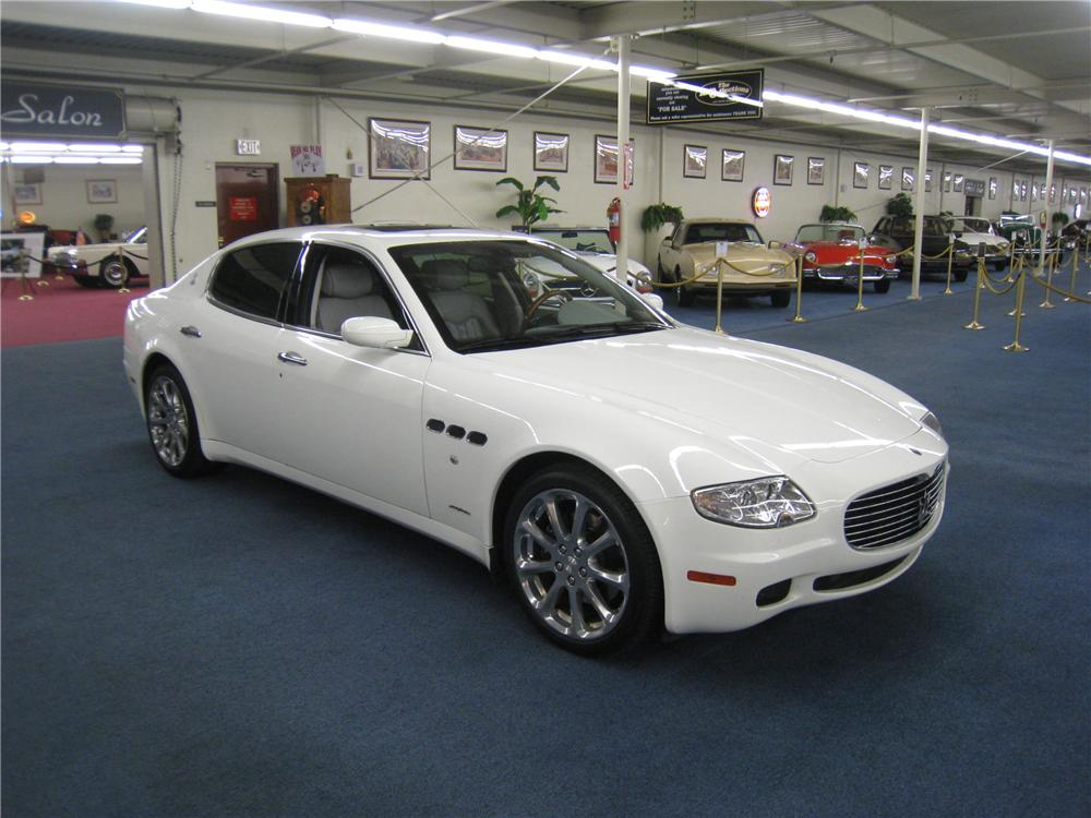 2007 maserati quattroporte 4 door sedan. Black Bedroom Furniture Sets. Home Design Ideas
