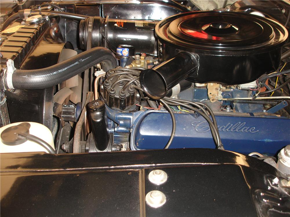 1964 CADILLAC DE VILLE CONVERTIBLE - Engine - 178010