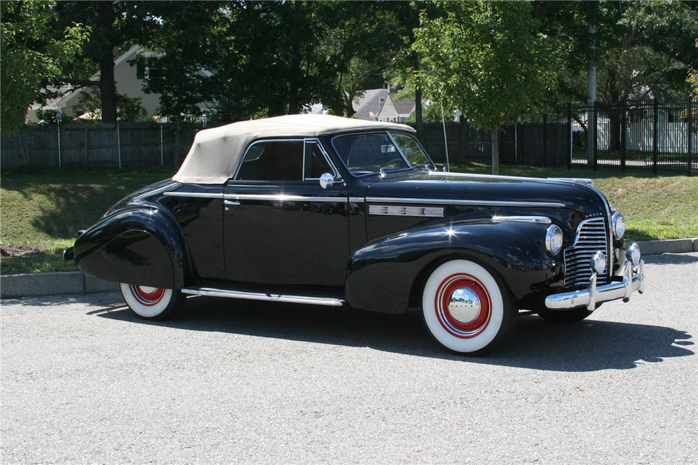 1940 BUICK SPECIAL CONVERTIBLE - Side Profile - 178012