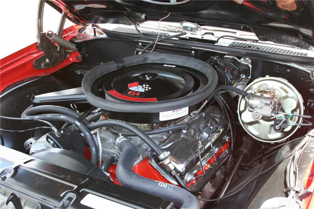 1970 CHEVROLET CHEVELLE SS CONVERTIBLE - Engine - 178014