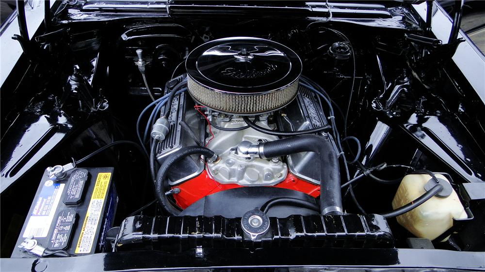 1966 CHEVROLET NOVA CUSTOM SPORT COUPE - Engine - 178024