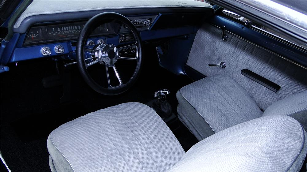 1966 CHEVROLET NOVA CUSTOM SPORT COUPE - Interior - 178024