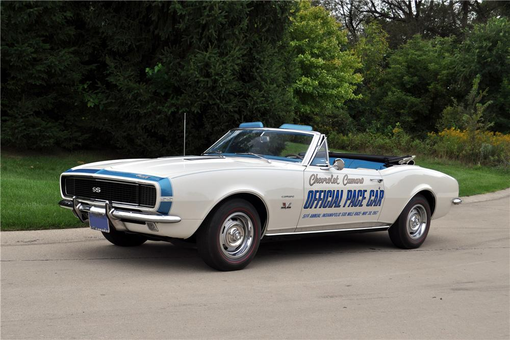 1967 Chevrolet Camaro Rs Pace Car Convertible 178030