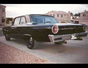 1963 FORD CUSTOM 300 2 DOOR POST -  - 17804