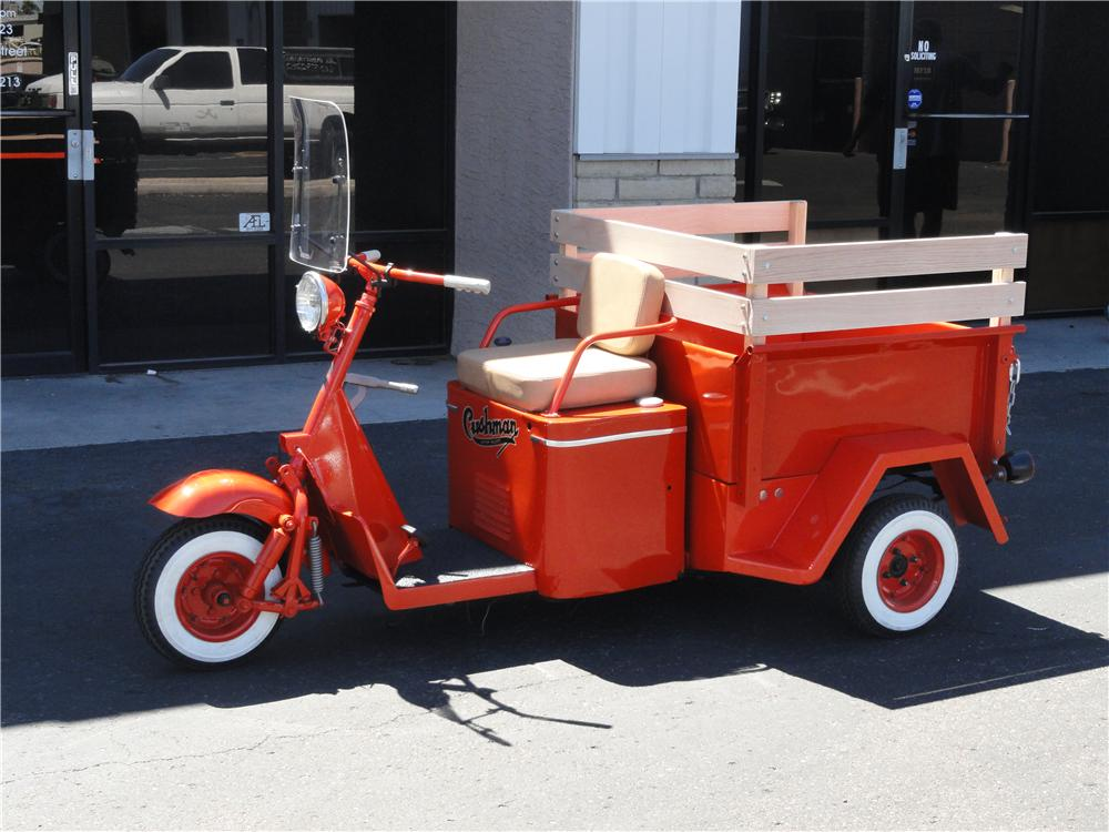 1959 CUSHMAN TRUCKSTER SCOOTER - Side Profile - 178042