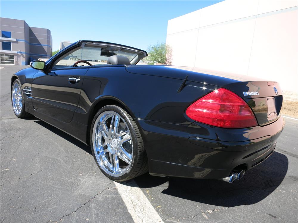 2004 mercedes benz sl600 convertible 178222. Black Bedroom Furniture Sets. Home Design Ideas
