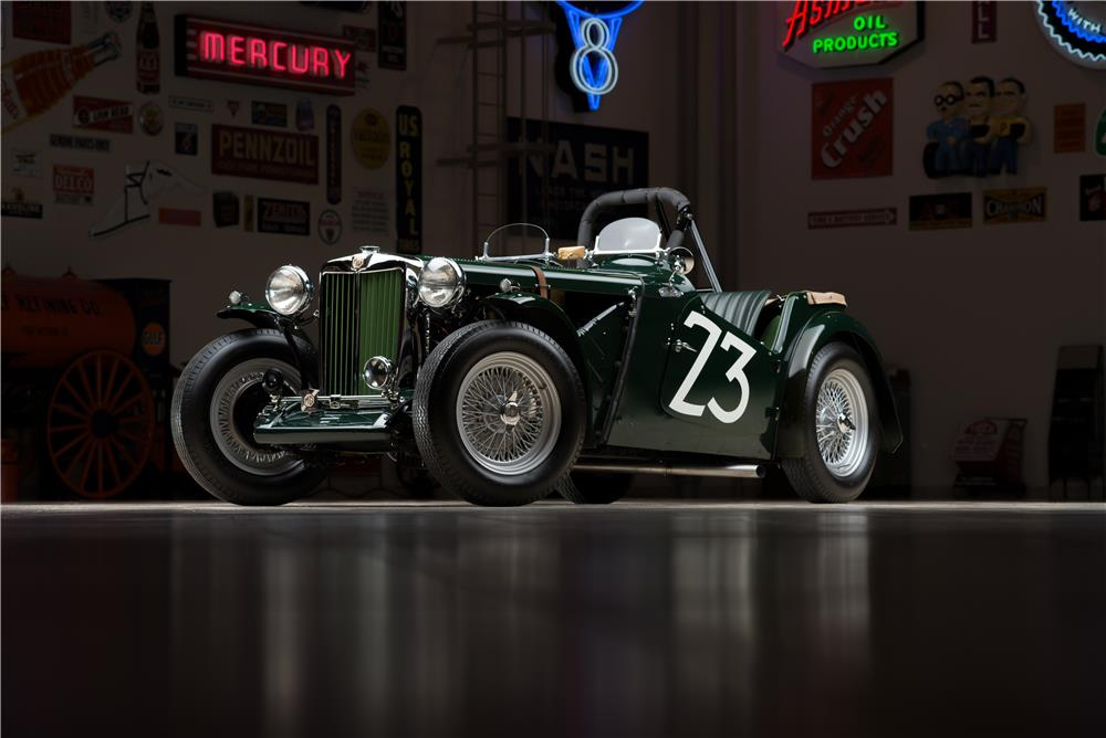 1949 MG TC ROADSTER RACE CAR - Front 3/4 - 178451
